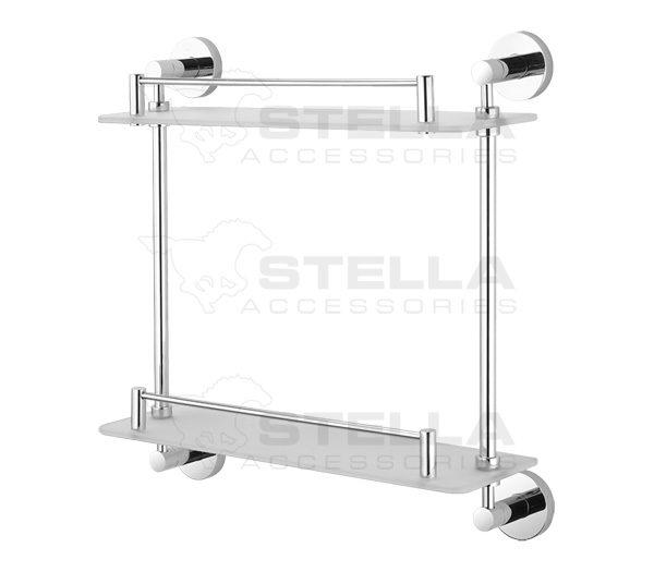 Zdjęcie Półka podwójna Stella Classic szkło mat 07.842