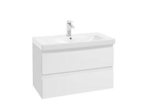 Szafka podumywalkowa Defra Como D85 biały połysk 83,2x51x42,6cm 123-D-08501