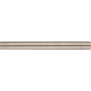 Listwa ścienna Tubądzin Larda White 7,2x74,8cm