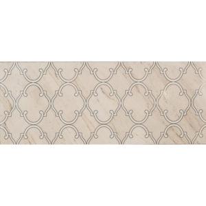 Dekoracja ścienna Tubądzin Larda White 29,8x74,8cm tubLarDekWhi