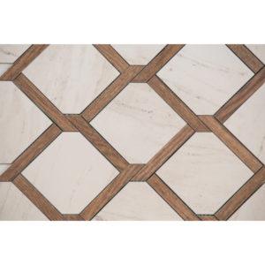 Mozaika gresowa Tubądzin Larda 1 34,6x34,6cm