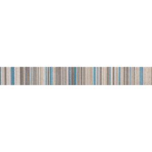 Listwa ścienna Domino Gris turkus 4,5x36