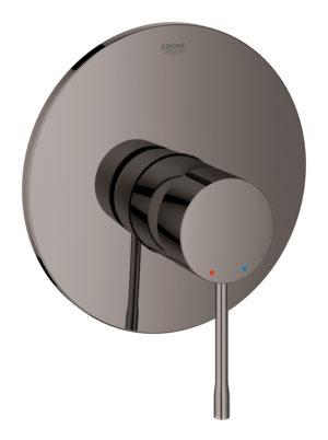 Grohe Essence -  jednouchwytowa bateria prysznicowa Hard Graphite Grafit 19286A01 .