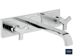 GROHE Allure - 3-otworowa bateria umywalkowa do montażu podtynkowego 20192000
