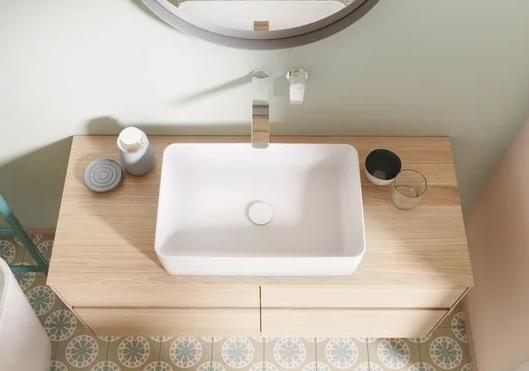 Zdjęcie Korek umywalkowy Villeroy & Boch Weiss Alpin ceramiczny 68080001 @