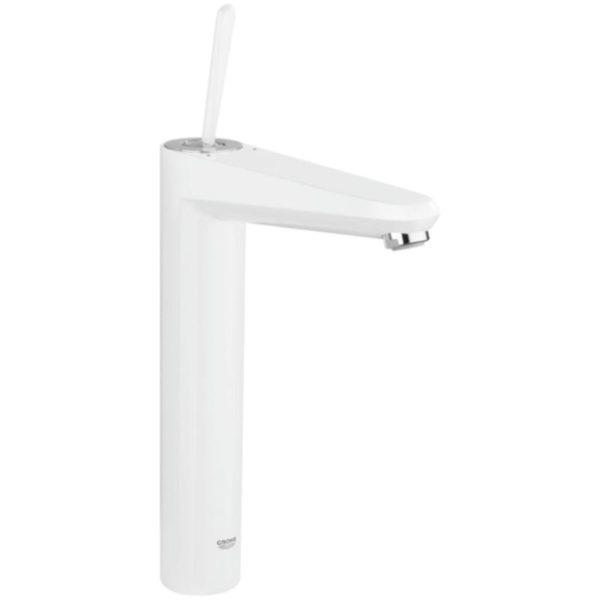 Zdjęcie Bateria umywalkowa wysoka Grohe Eurodisc Joystick biała 23428LS0