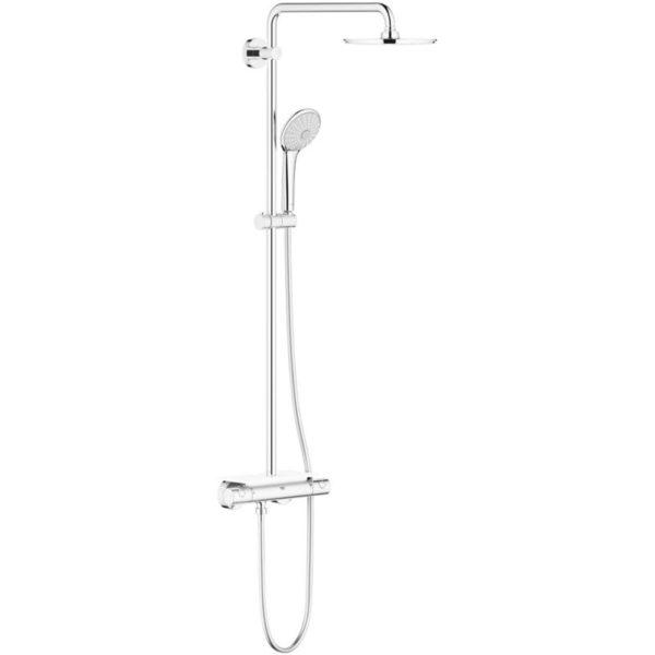 Zdjęcie System prysznicowy z termostatem do montażu ściennego Grohe Euphoria XXL System 210 26363000