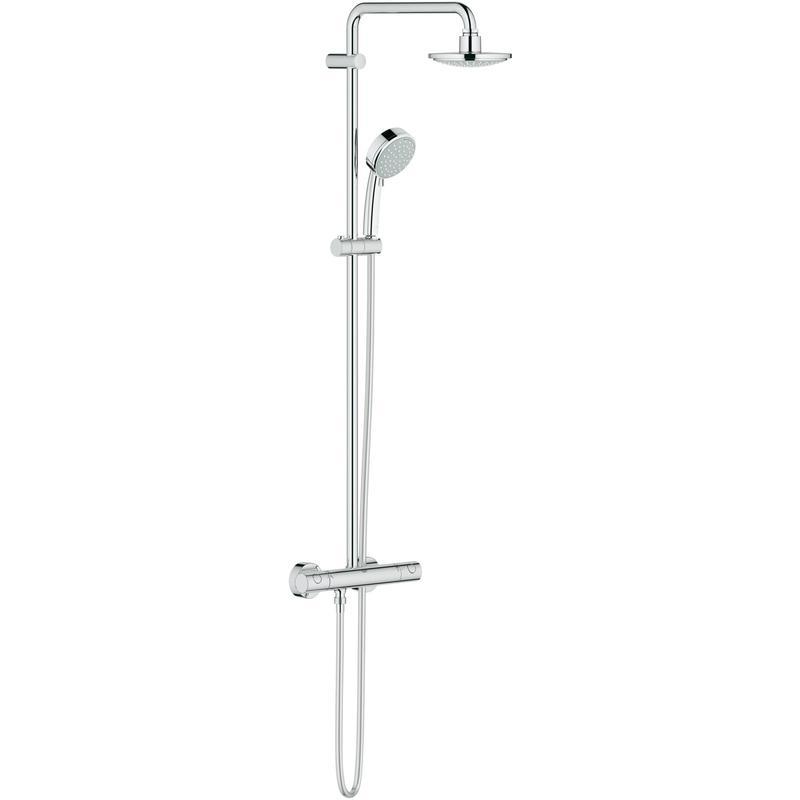 Zestaw prysznicowy z termostatem do montażu ściennego Grohe New Tempesta Cosmopolitan 160 27922000