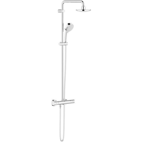 Zdjęcie Zestaw prysznicowy z termostatem do montażu ściennego Grohe New Tempesta Cosmopolitan 160 27922000