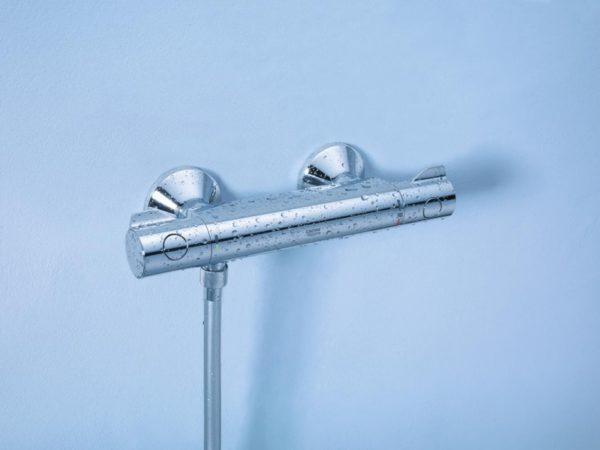 Zdjęcie GROHE Grohtherm 800 – termostatyczna bateria prysznicowa 34558000 .