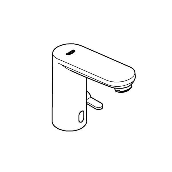 Zdjęcie GROHE Eurosmart Cosmopolitan E – elektroniczna bateria umywalkowa z czujnikiem podczerwnieni Chrom 36327001