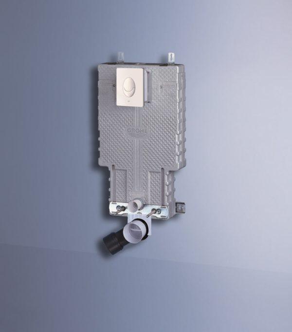 Zdjęcie GROHE Skate Air – przycisk uruchamiający do spłuczki podtynkowej 38505SH0 .