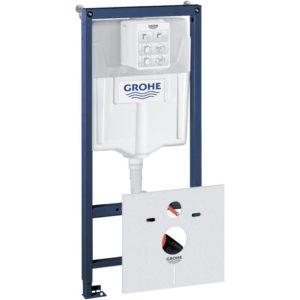 GROHE Rapid SL  Stelaż 3w1 - system instalacyjny z ramą montażową, kątownikami ściennymi i matą wyciszającą 38539001