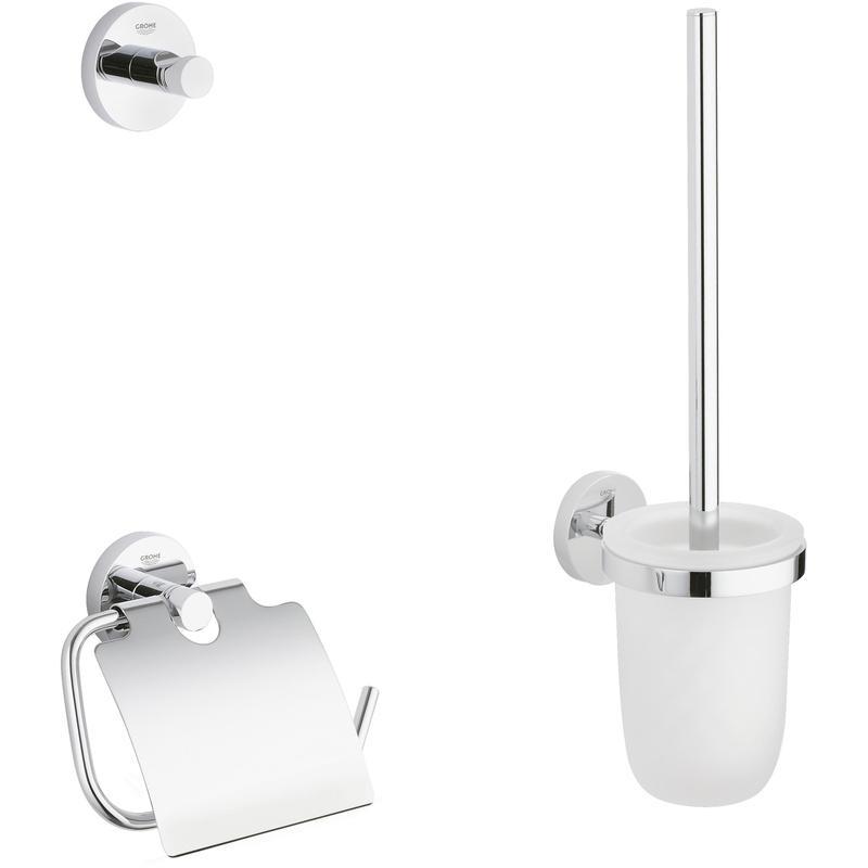 GROHE Essentials 3 in 1 - zestaw akcesoriów łazienkowych 40407001