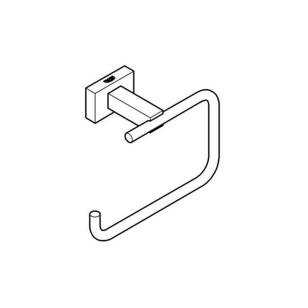 Zdjęcie Uchwyt na papier Grohe Essentials Cube 40507001