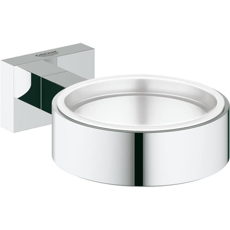 Uchwyt do szklanki lub mydelniczki Grohe Essentials Cube chrom 40508001