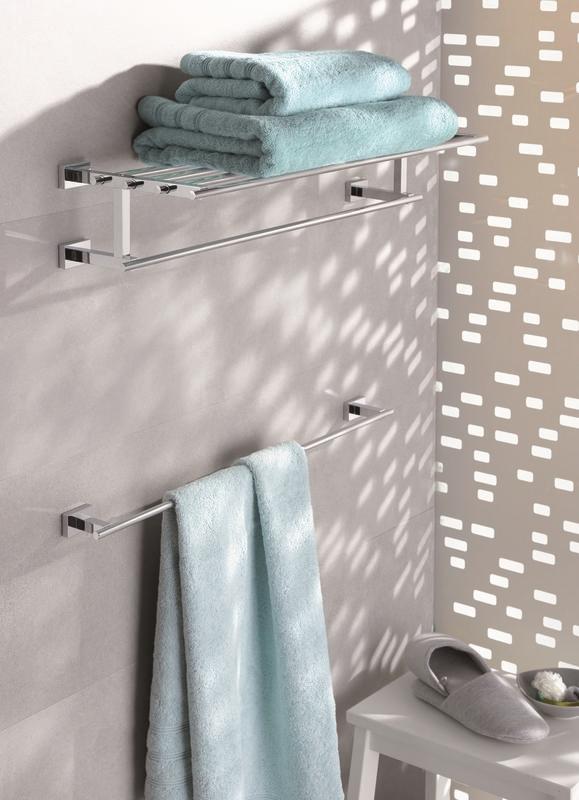 Zdjęcie Półka z wieszakiem na ręczniki Essentials Cube 40512001