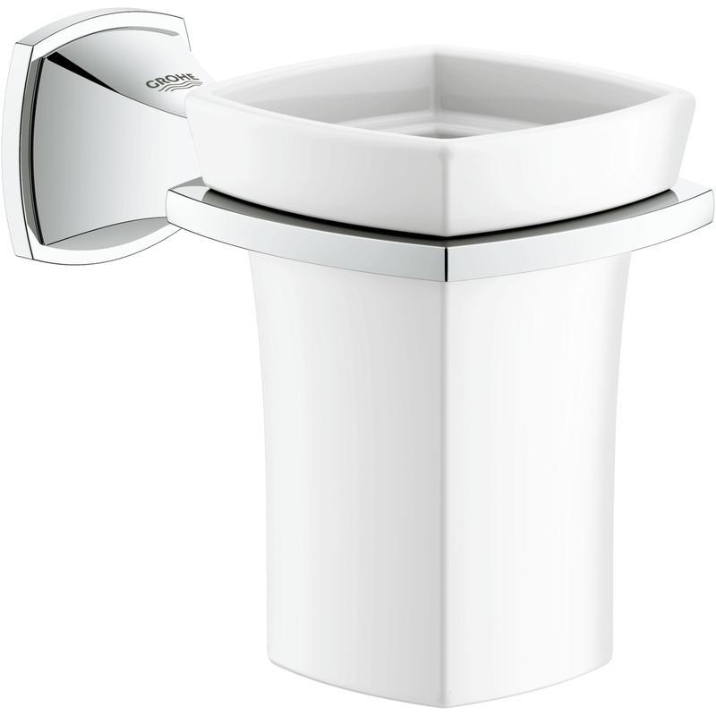 GROHE Grandera - uchwyt z kubkiem ceramicznym 40626000