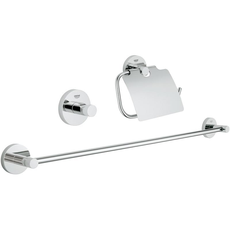 GROHE Essentials 3 in 1 - zestaw akcesoriów łazienkowych 40775001