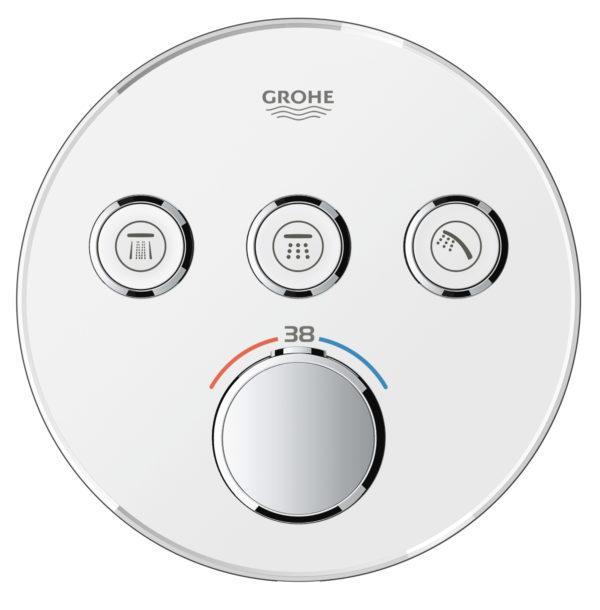 Zdjęcie GROHE Grohtherm SmartControl – podtynkowa bateria termostatyczna do obsługi trzech wyjść wody 29904LS0