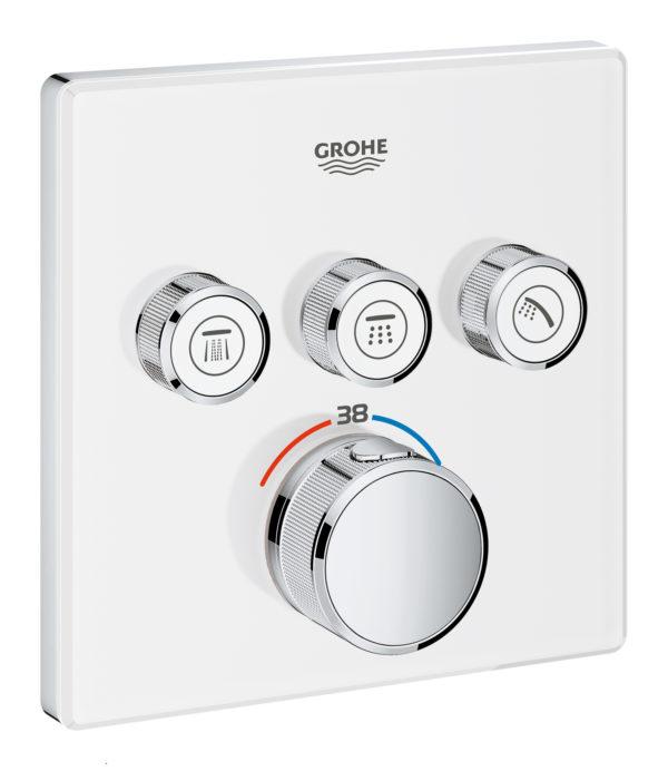 Zdjęcie GROHE Grohtherm SmartControl – podtynkowa bateria termostatyczna do obsługi trzech wyjść wody 29157LS0