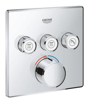 GROHE SmartControl - bateria podtynkowa do obsługi 3 wyjść wody 29149000 .