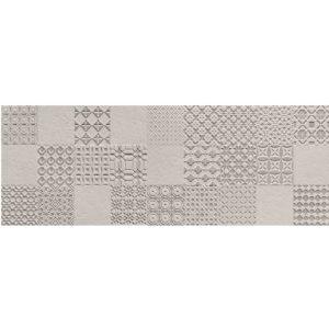 Dekor ścienny Tubądzin Integrally Grey 32,8x89,8cm DS-01-212-0328-0898-1-019 @