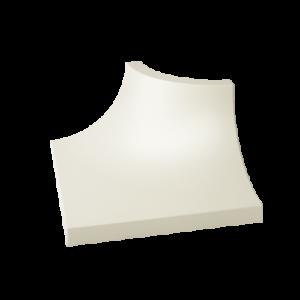 Kształtka Paradyż Gamma Bianco C mat. 3X4cm K---030X040-1-GAMA.BIC-M