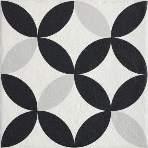 Płytka podłogowa Paradyż Modern Motyw E Struktura 19,8x19,8cm parModMotEStr20x20