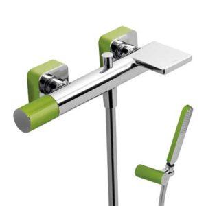 Bateria wannowa Tres Loft colors zielony 20017001VE