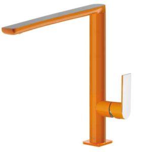 Bateria zlewozmywakowa Tres Loft colors pomarańczowy 20044001NA