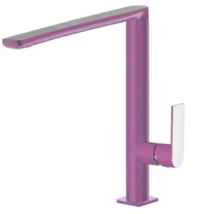 Bateria zlewozmywakowa Tres Loft colors fioletowy 20044001VI