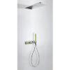 Zdjęcie Zestaw natryskowy z baterią termostatyczną Tres Loft colors zielony 20735202VE