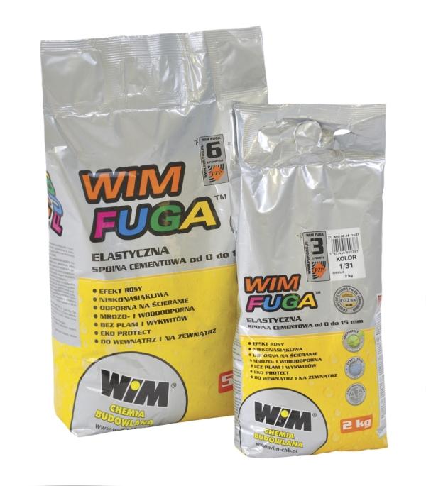 Fuga cementowa Wim WIMFUGA 5 kg, Cynamon 1/43