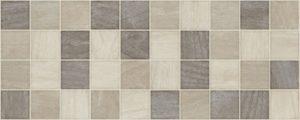 Dekoracja ścienna AB Colter Noce Dekor Mosaico 20x50cm abColNocDekMos20x50