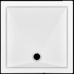 Brodzik kwadratowy Atrium Arco 80cm QA2-80