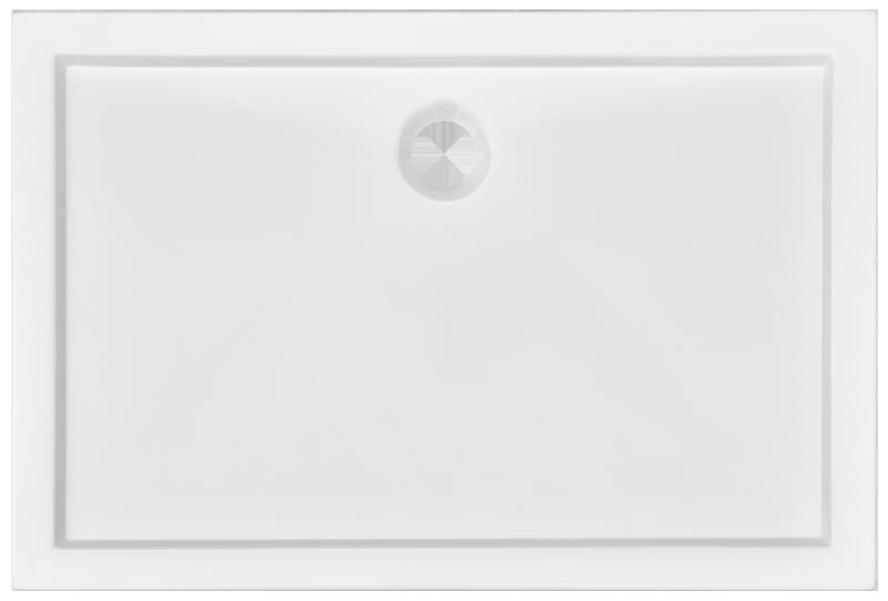 Brodzik prostokątny Atrium Piave 80x120cm QA3-120