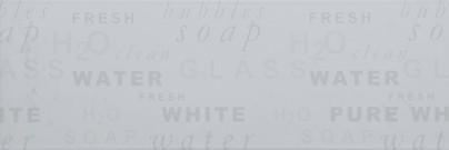 Zdjęcie Dekoracja ścienna Azteca Life R60 Letters White 20×60