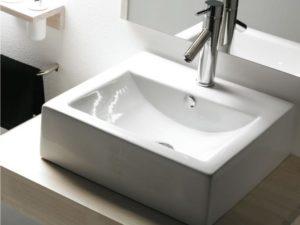 Umywalka nablatowa Bathco Bolonia 0010A