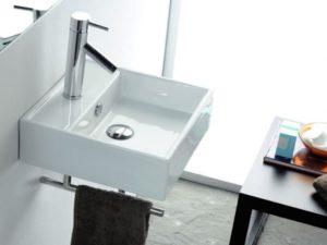 Umywalka nablatowa Bathco Gomera 0017D