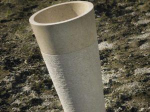 Umywalka kamienna nablatowa Bathco Java Beige 00322
