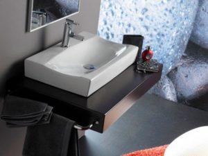 Umywalka nablatowa Bathco Sardinero 0041