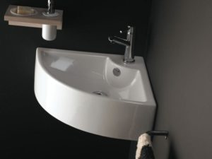 Umywalka narożna Bathco Oporto 0043
