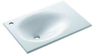 Umywalka dolomitowa blatowa Bathco Verona 60 cm 0538