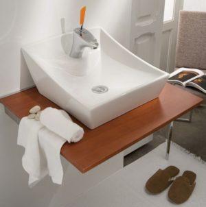 Umywalka nablatowa Bathco Soria 4002