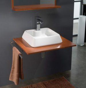 Umywalka nablatowa Bathco Galicia 60 cm 4004