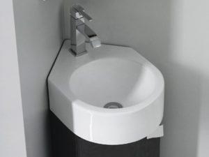 Umywalka podwieszana narożna Bathco Bristol 4049