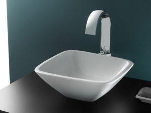 Umywalka nablatowa Bathco Baviera 30x30cm 4050