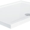Zdjęcie Brodzik prostokątny Besco Alpina 120 biały 120x90x3 BAA-129-P