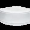 Zdjęcie Brodzik półokrągły Besco Diper I 90 biały 90x90x24 BAD-90-NK